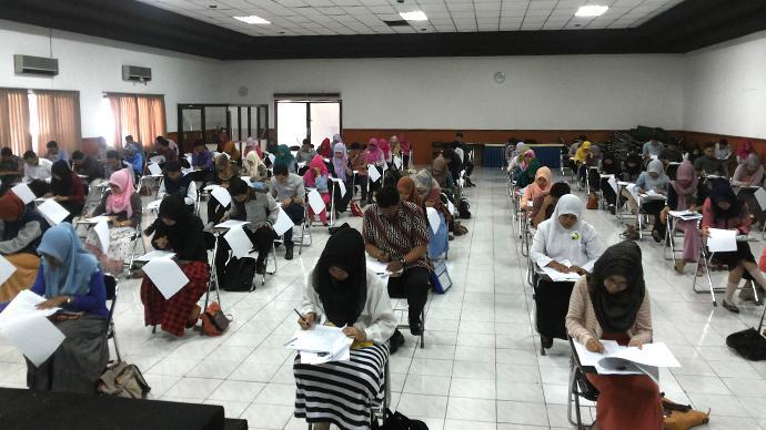 Tes Tulis Calon Mahasiswa Baru Program Pendidikan Profesi Ners Gel. 11 Periode II 2014-2015